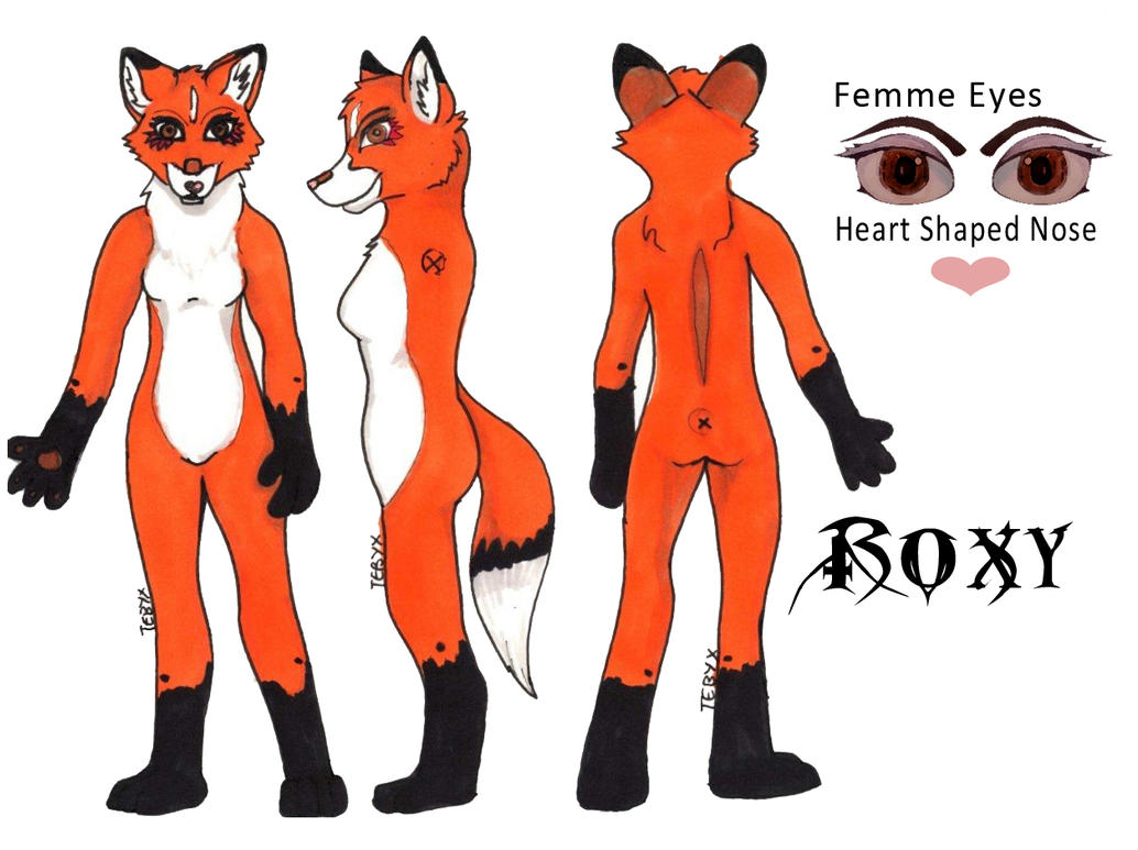 Fox Fur Suit Reference by Tebyx