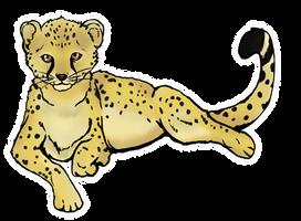 Cheetah by Tebyx
