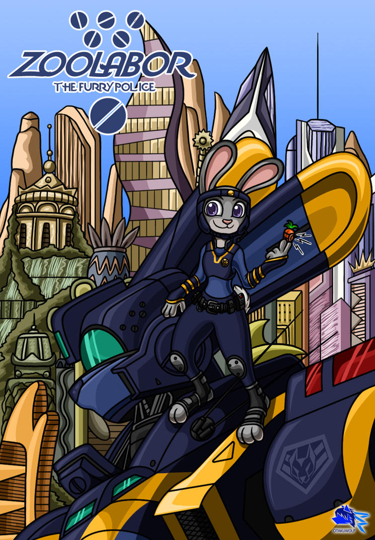 Mobile Furry Police Zoolabor by Otakuwolf