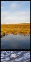 Finnmark Water Grass Sky Versions