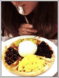 Waffle by Sanara19