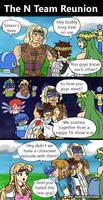 N team reunion comic