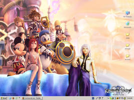 Kingdom Hearts 2 Theme by goneandneverfound