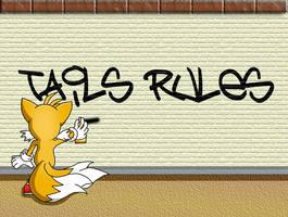 Tails - Graffiti by yohyoh
