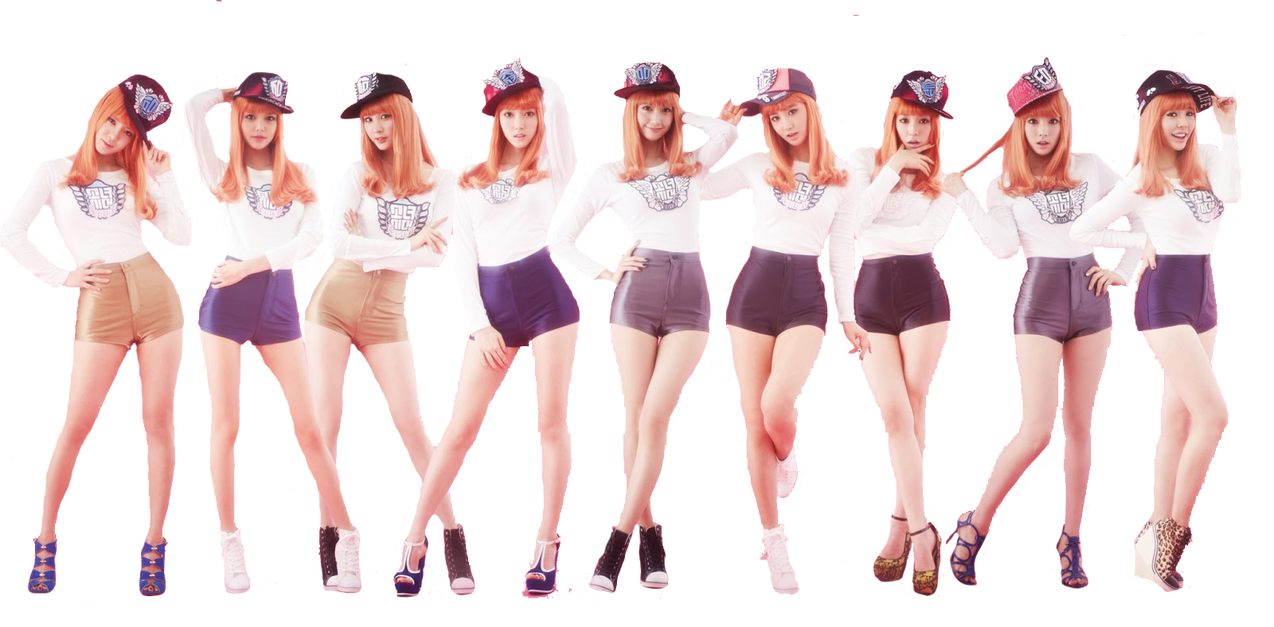 SNSD I Got a Boy Dance Version Render by dearyYamachii