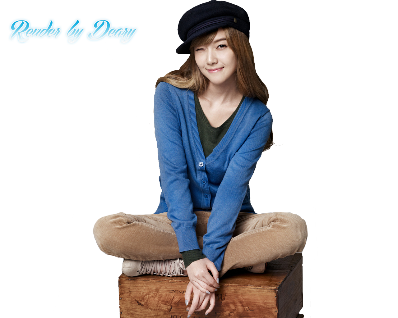 Jessica SNSD Render by dearyYamachii
