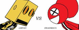 LMFAO VS DEADMAU5 by Slash-The-Hedgehog15
