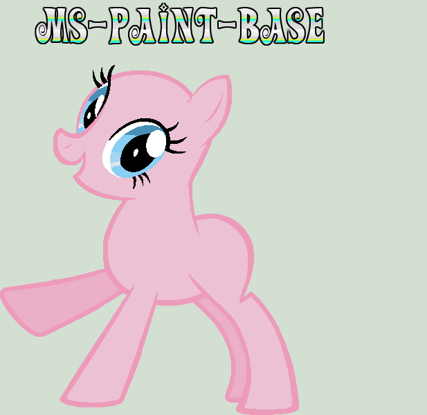 UPDATE: Pony Base By Ms-Paint-Base On DeviantArt