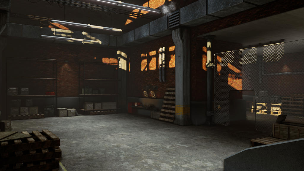 Warehouse Interior 04 By Flamingshark ...