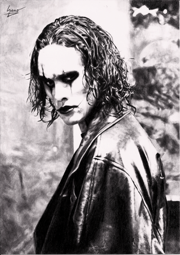 Brandon lee the crow by 6deadspaceofpencil9 on deviantart - The crow wallpaper ...