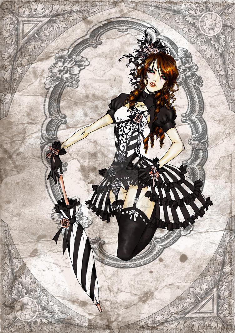 Steampunk Harlot by Hikari-Yuumiko