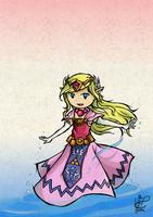 Wind Waker Zelda by NayruFaroreDin