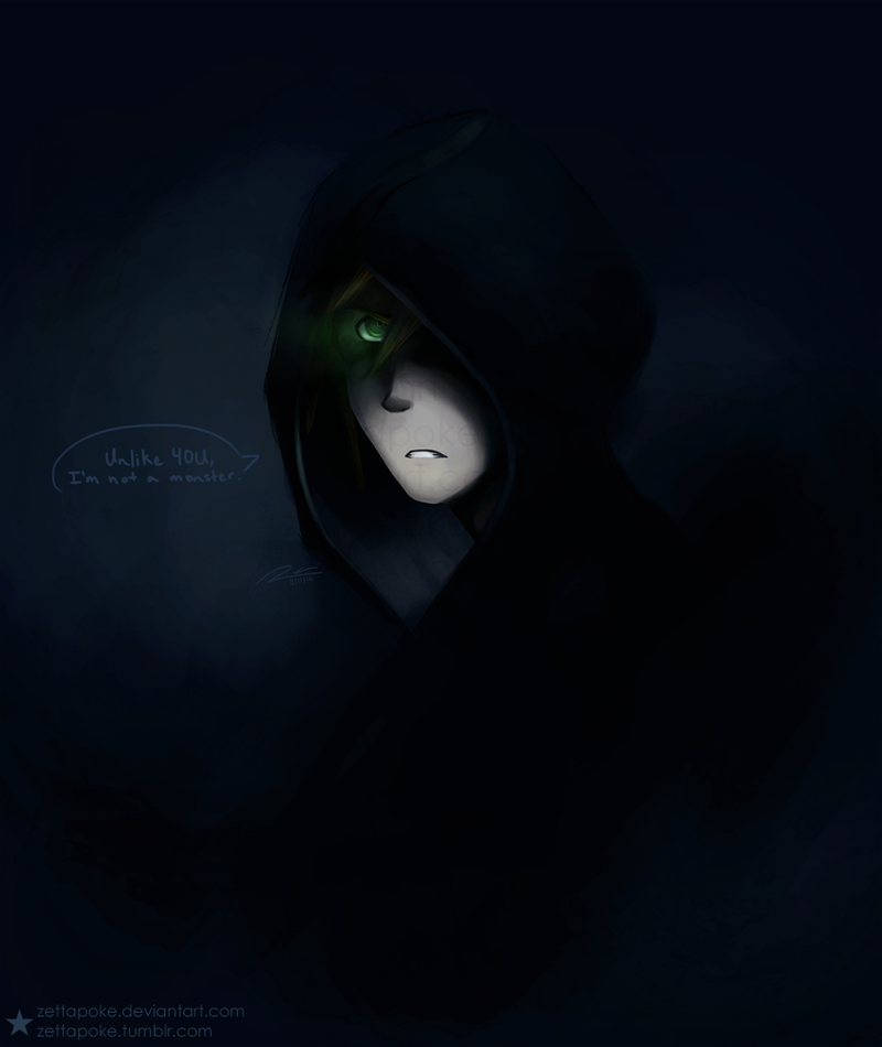 KHOC - Unlike you, I'm not a monster. by zettapoke