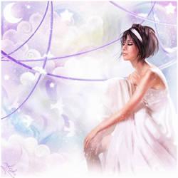 purple ribbons by anaRasha