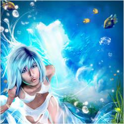 Blue Kiss by anaRasha