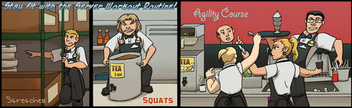 Spotlight - How We Stay Sane @ Work by WebcomicUnderdogs
