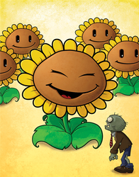 Sunflower by ElectricPea0360