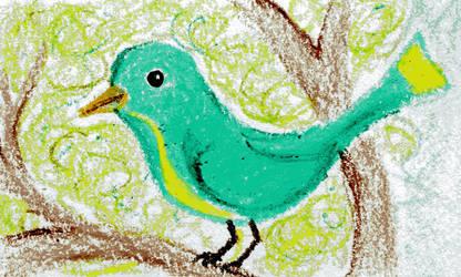 Birdie by Adelie-Helene