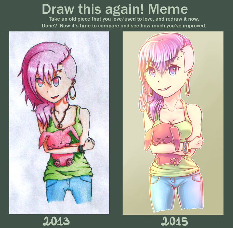 Draw This Again Meme by pushis33