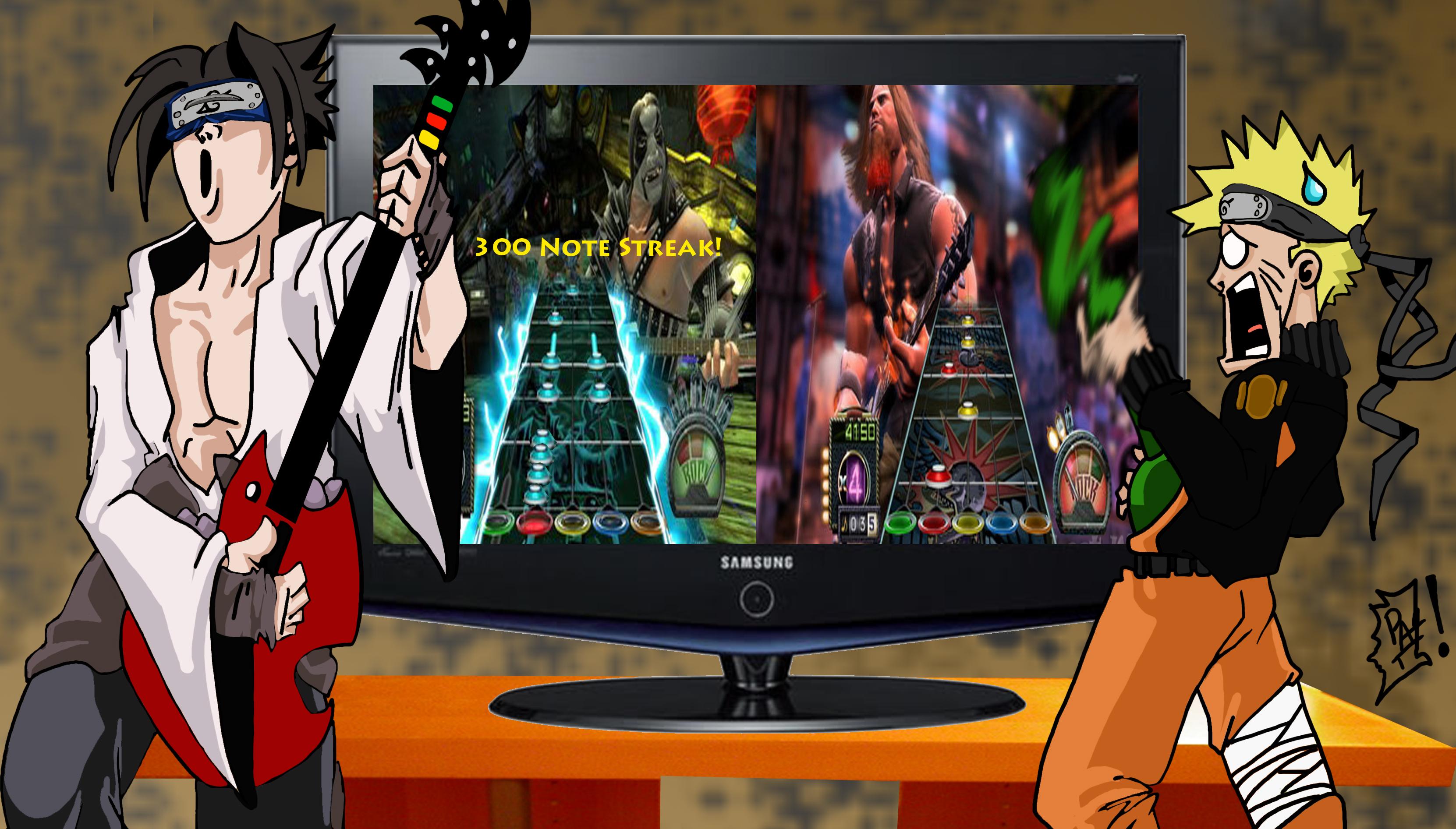 Naruto guitar hero