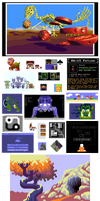 Pixel Art Dump 2015-1990 by 0xDB
