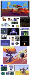 Pixel Art Dump 2015-1990 by 0xDB