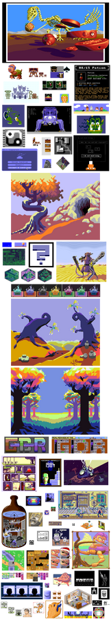 Pixel Art Dump 2015-1990