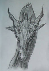 Dark Dragon Head