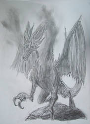 Dark Dragon Sketch
