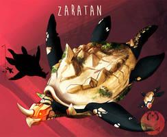 FanGrimm - Zaratan by Blue-Hearts