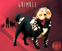 FanGrimm - Grimble by Blue-Hearts