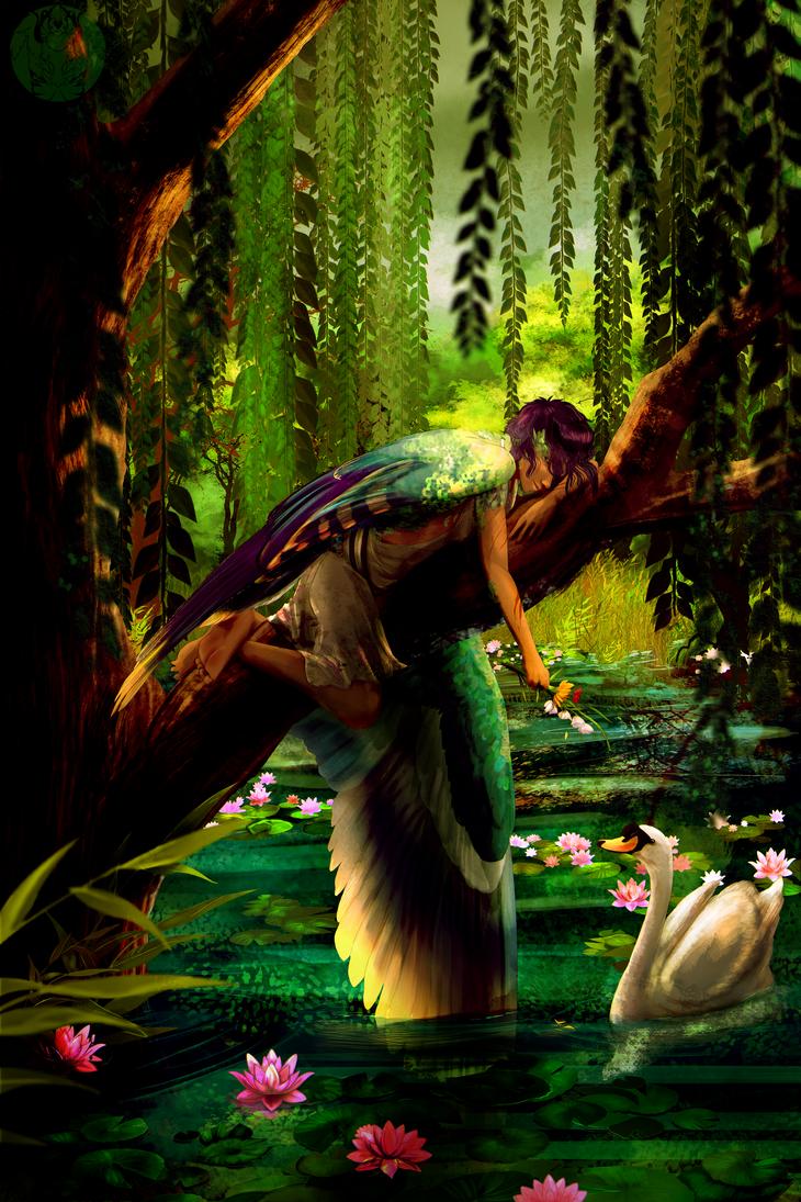 SB: Swan Green by Blue-Hearts