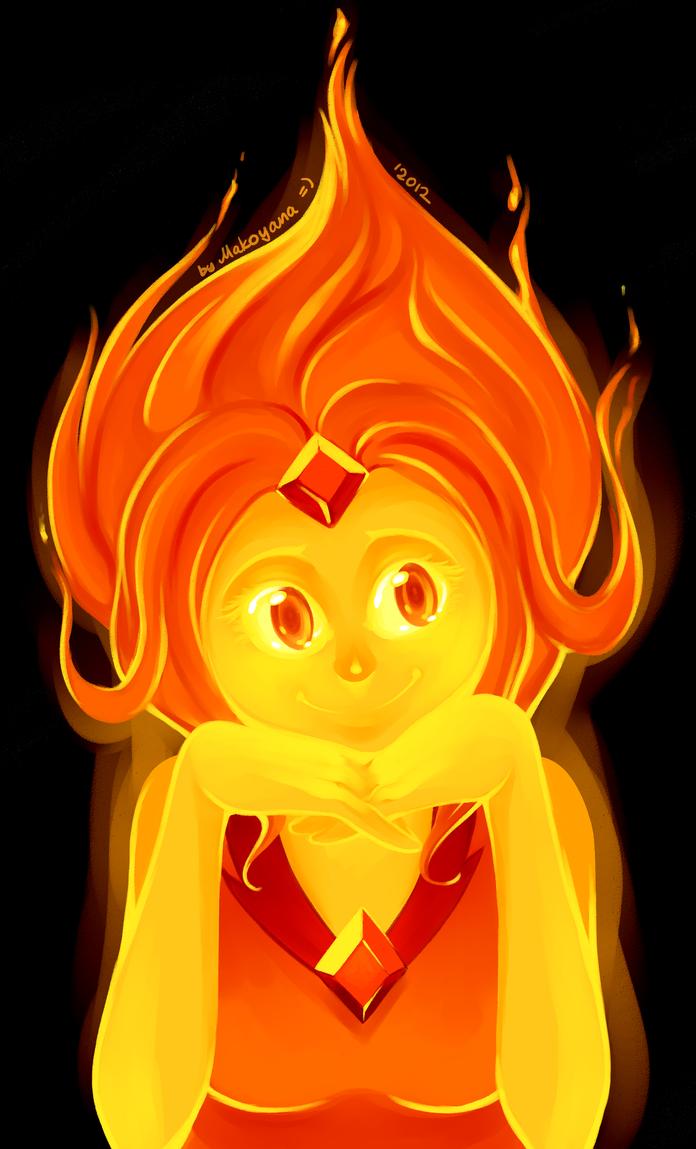 Plamen  svece - Page 4 Flame_princess_by_magness_makoyana-d5evzr9