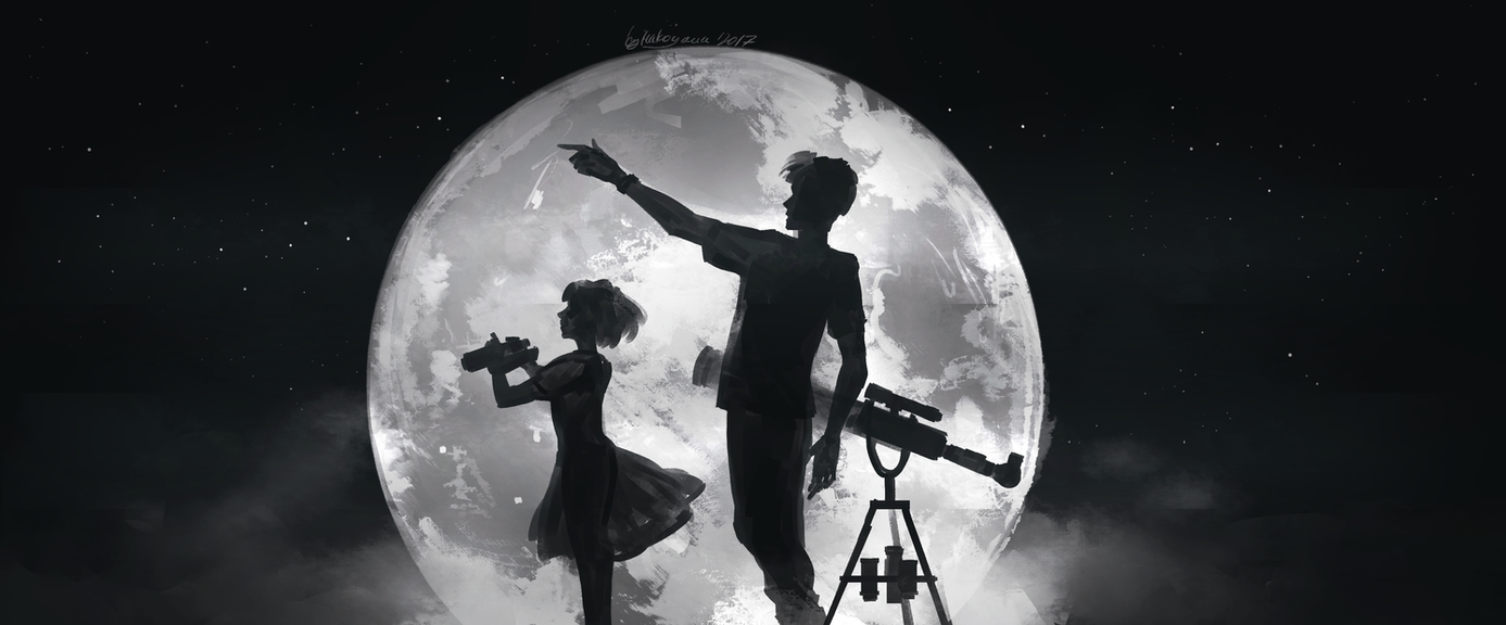 How high the Moon by Makoyana