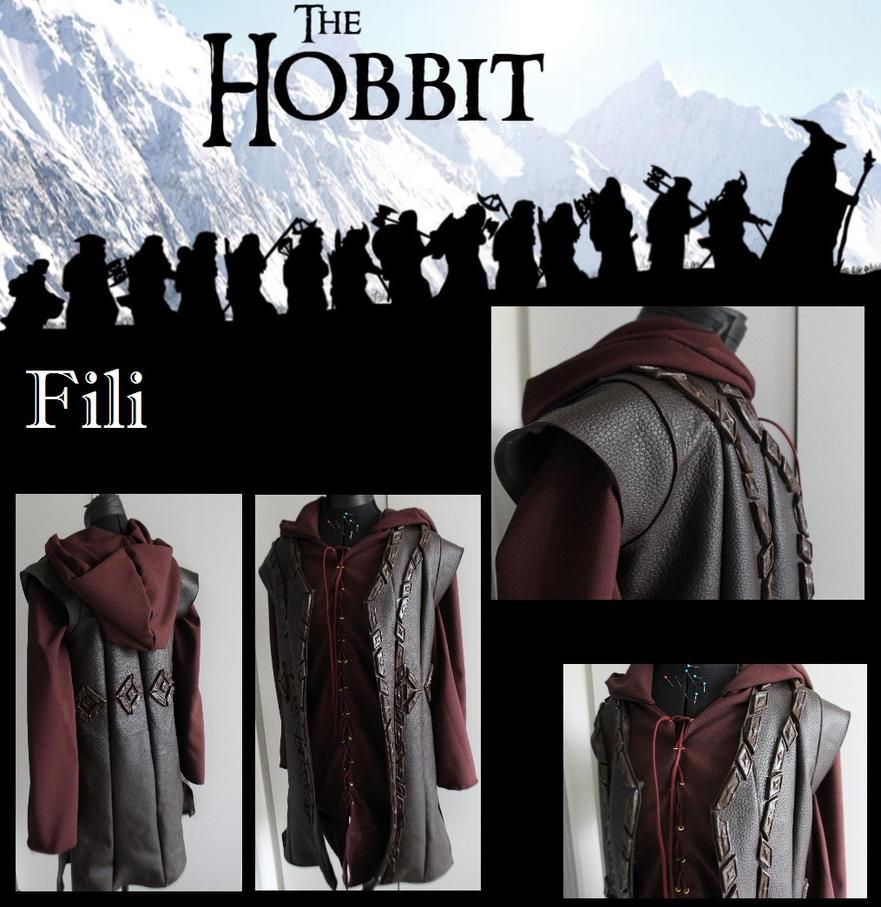 Fili progress - The Hobbit by PixiePokers