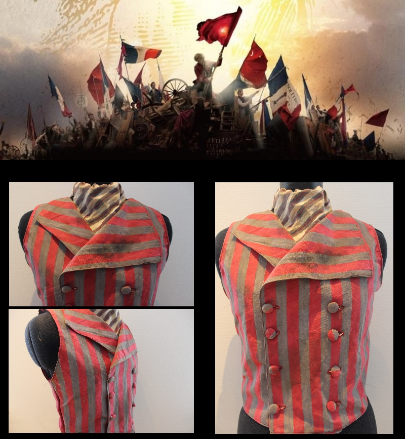 Les Miserables - Monsieur Thenardier Vest by PixiePokers