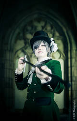 Ciel Phantomhive cosplay ~