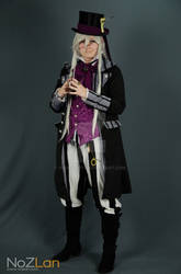 Undertaker Mad Hatter ~ Black butler cosplay