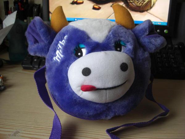 Milka Cow Bag by Stock-Karr on DeviantArt