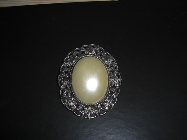 Mother of Pearl Button by Stock-Karr