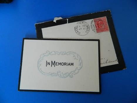Memoriam Card 1