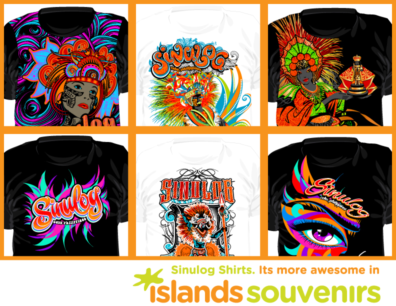 Islands souvenirs sinulog 2012 shirts 01 by nadzinadz on for Philippines t shirt design