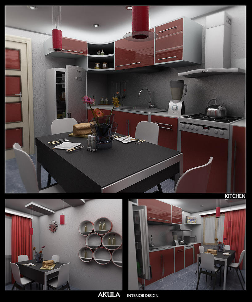 Kitchen design 1 by akula13 on deviantart for Kitchen design zimbabwe