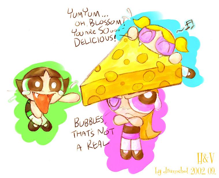 Cheese-headed Blossom by MojoT