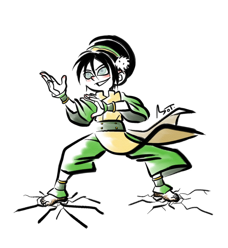 Toph by MojoT