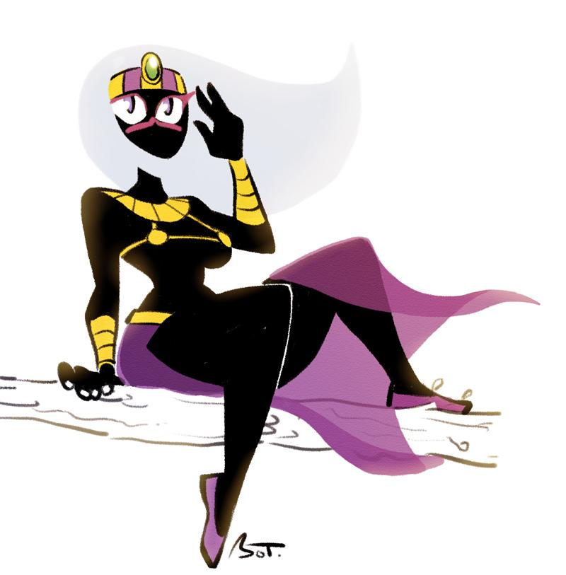 Tyrahnee the mars queen by MojoT