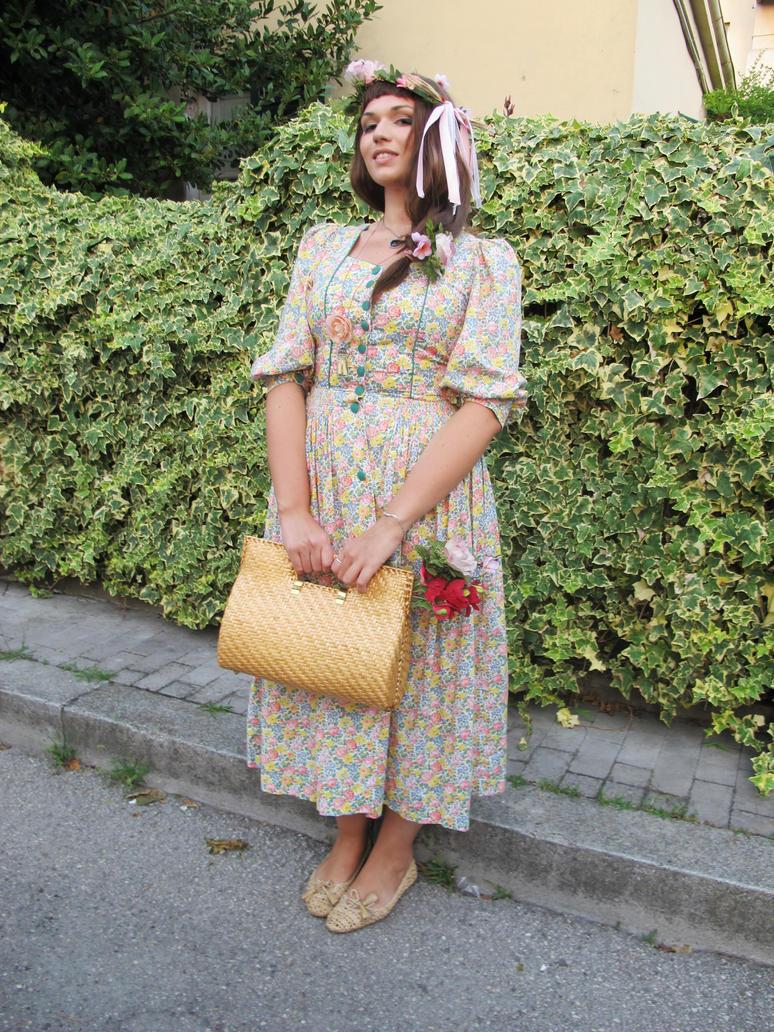 Mori girl - Harajuku Fashion by ValentinaEarnshaw