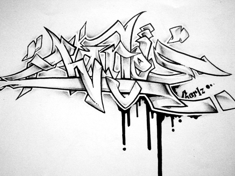 Graffiti throw up graffiti coloring pages free alphabet coloring - Charlz Graffiti By Charlzdzign On Deviantart
