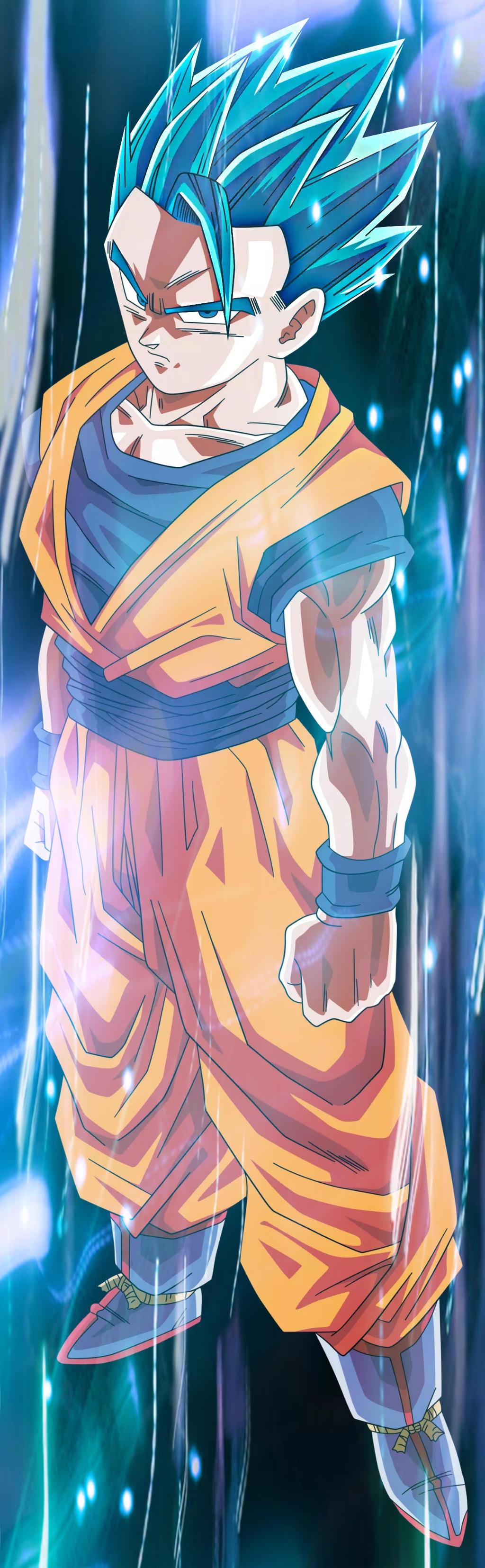 The Goku vs teen gohan