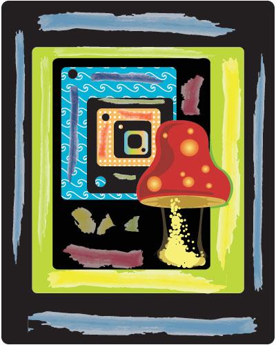 Mushroom Madness by artsiipunk